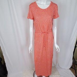 MICHAEL Michael Kors Knit Short Sleeve Maxi Dress